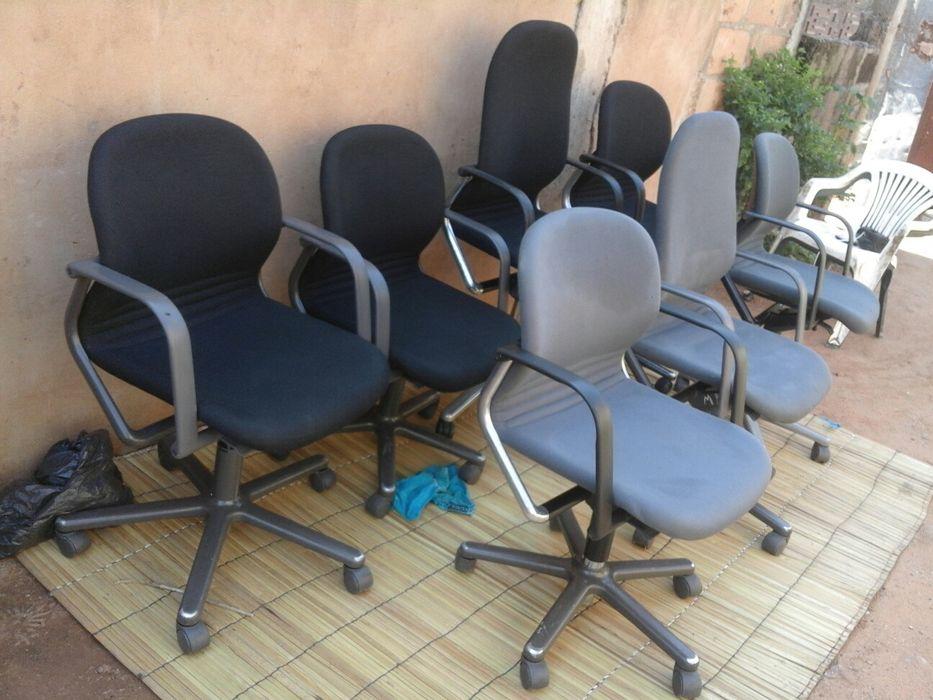 Cadeiras executivas giratórias