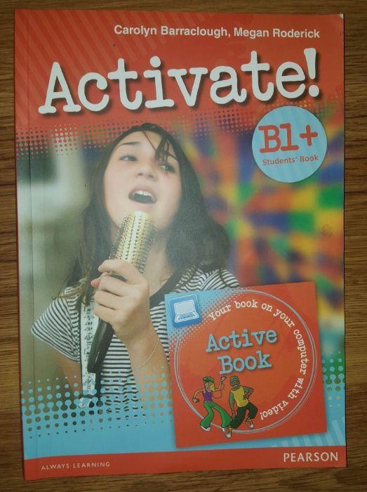 Activate Учебник по англииски ниво B1 на Pearson