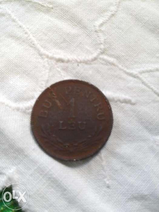 vand moneda 1 leu 1924