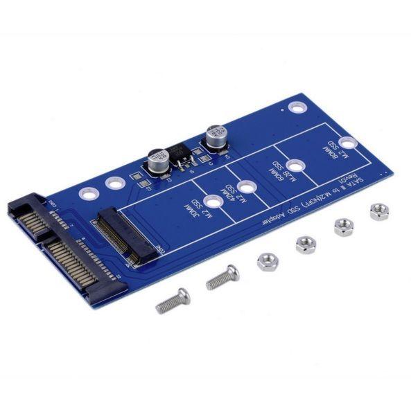 Adaptor convertor SSD M.2 NGFF (de tip SATA) la SATA III pt laptop, pc