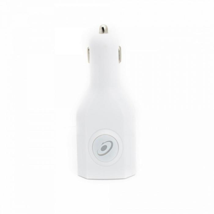 Incarcator USB priza si auto E-Boda Alb