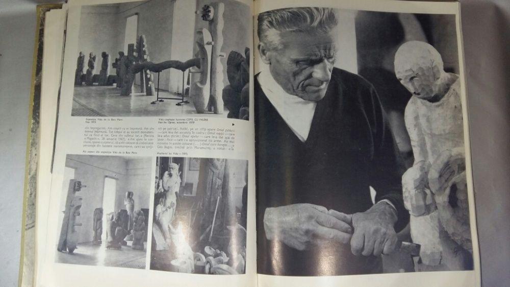 Vida Geza carte din 1981cu picturi sculptura in lemn