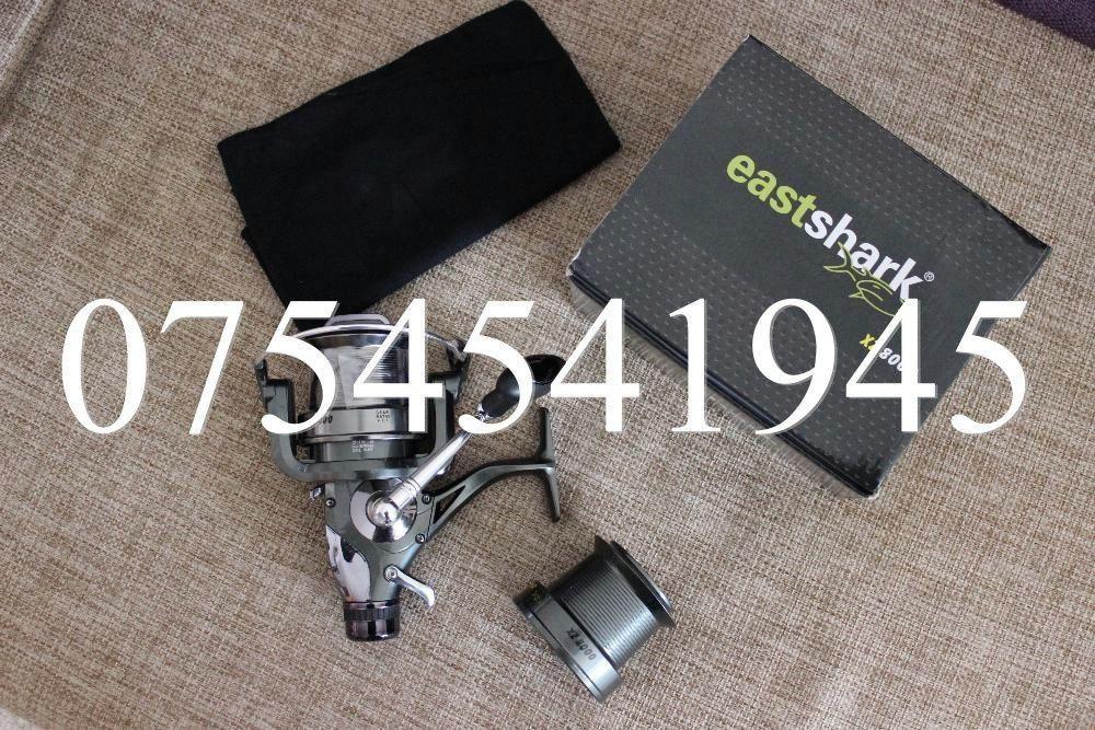 Mulineta Long Cast Eastshark XZ8000 XZ 8000 Rulmenti 10 Distante Mari