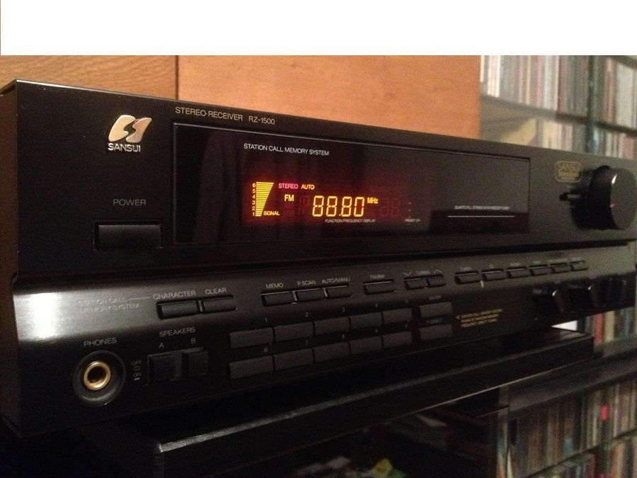 Amplificator & Receiver Stereo SANSUI RZ-1500 - 2x70 w/Impecabil/Japan