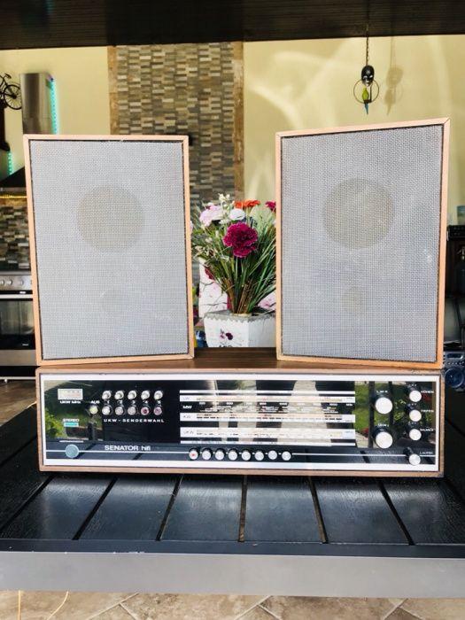 Vând radio colecție SENATOR HIFI 1968