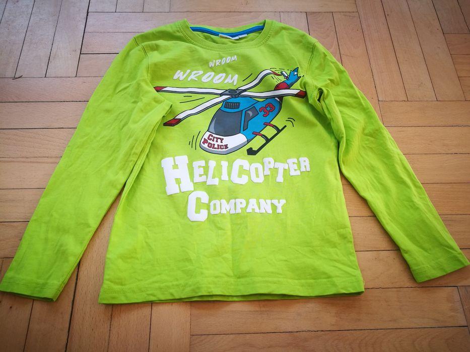 Два броя детски блузи с дълъг ръкав размер 122/128