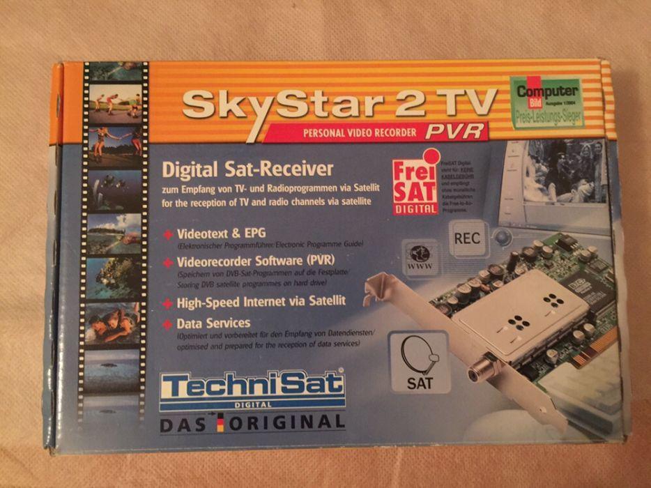Skystar 2 PCI modul-placa de receptie satelit pentru PC