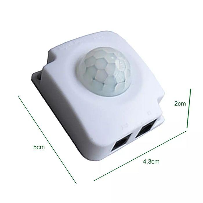 Senzor miscare lumina pir 12v 24v