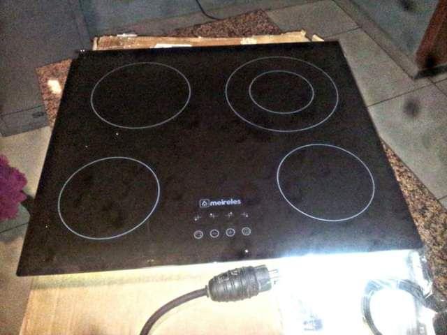 Placas de fogão/Gás e Elétrica