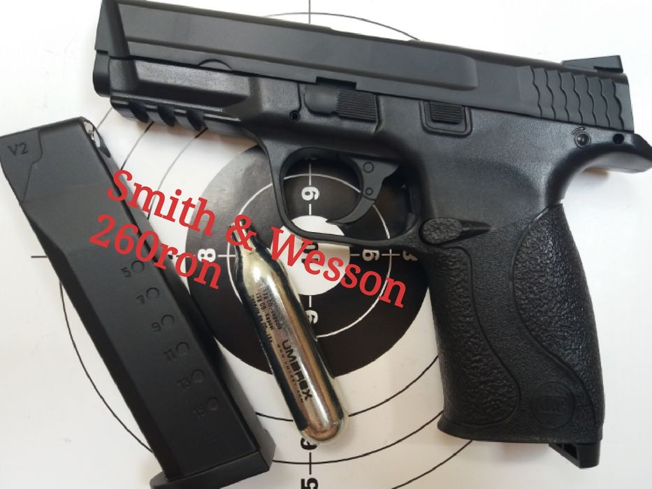 REDUCERE Pistol airsoft full metal pe co2 putere mare 6mm Nu WALTHER Bucuresti - imagine 3