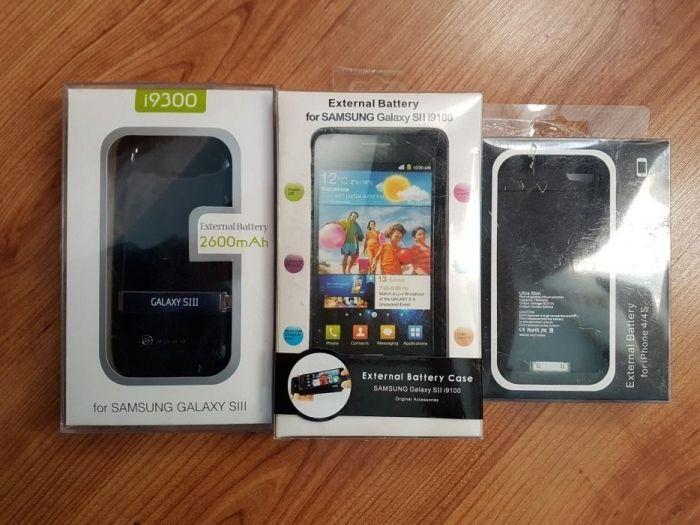 Baterie externa cu husa Samsung S3 si Iphone 4 4s Samsung S2 2200mA