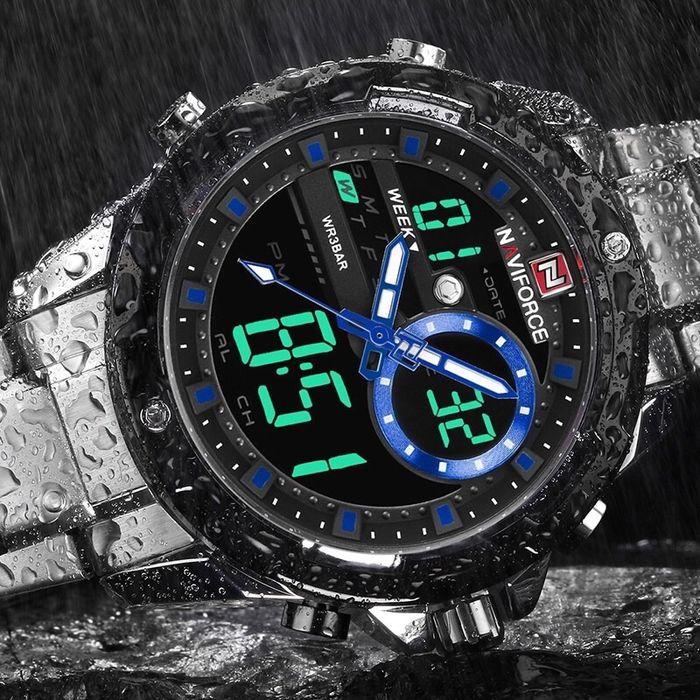 Relógio de luxo Naviforce 9120