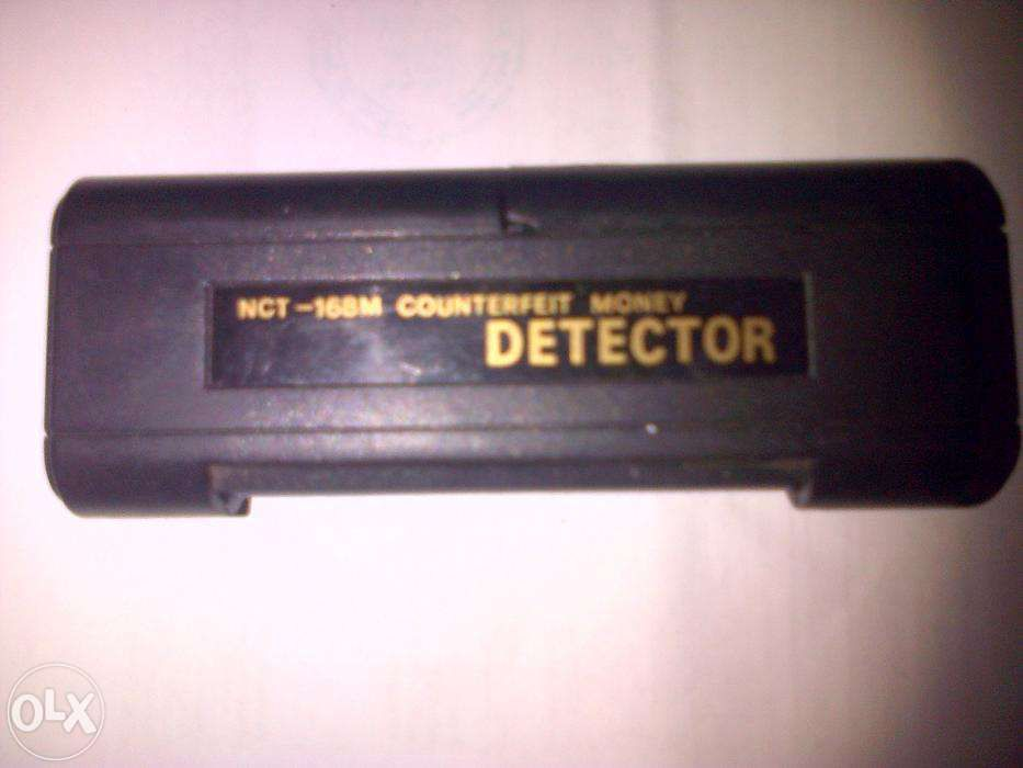 vand detector ntc-168 m,counterfeit money in stare foarte buna,neutil