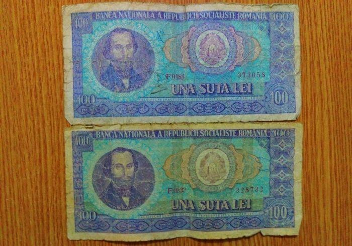 Vand-schimb bancnote vechi