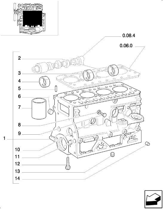 piese pentru tractoare New Holland, Ford, Fiat/FiatAgri
