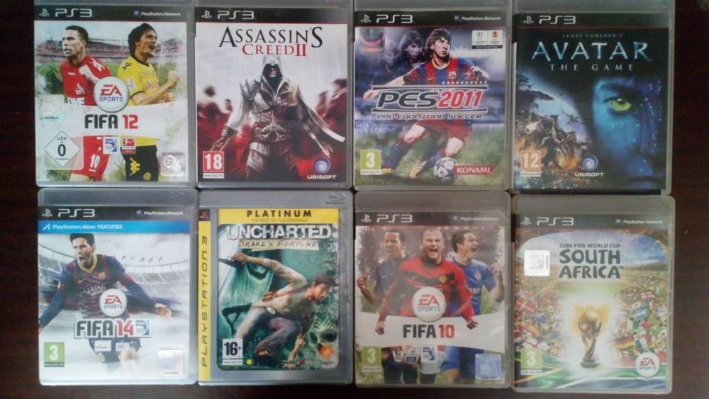 Playstation3 игри, Assassin's creed ,Fifa etc