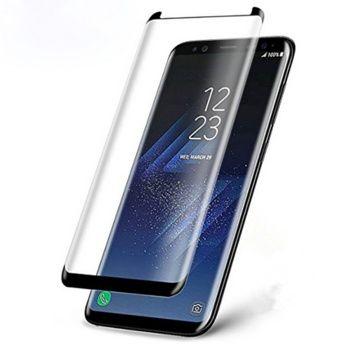 Folie de sticla 3D mini compatibila cu Samsung Galaxy S8 Plus