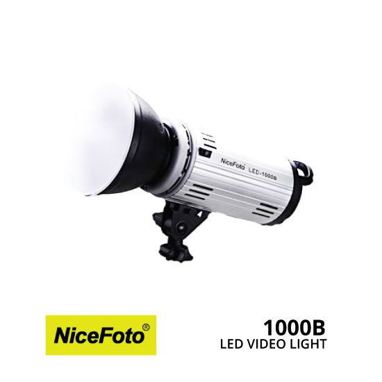 Lampa Led studio Nicefoto LED-1000B prindere Bowens pt softbox
