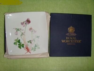 Platou portelan ROYAL WORCESTER - Deosebit !! Cadou decor original