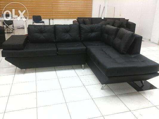 sofa tipo L Geneva Novo importado com anexo com várias funções