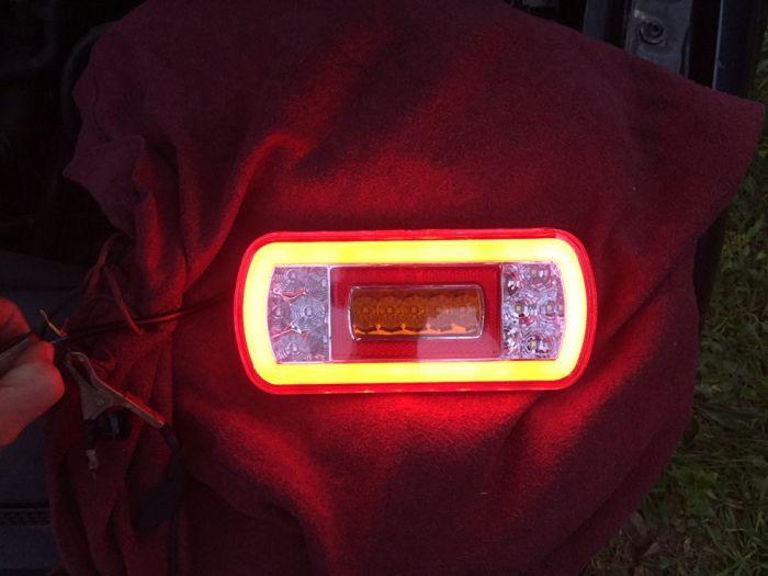Triple neon remorca/platforma/trailer/camioneta