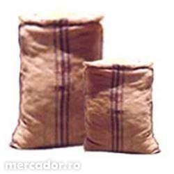 Sac material canepa pentru decoratiuni si depozitare cereale