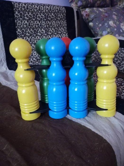 Кегли игрушечные