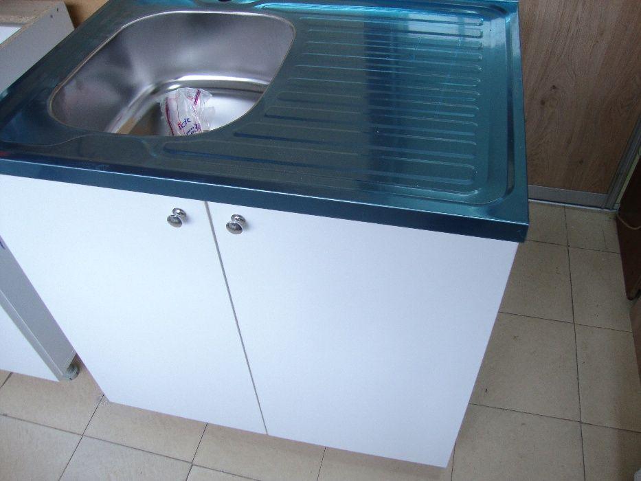Нов Кухненски шкаф с мивка 18см Kuhnenski shkaf s mivka 80/60 кухня