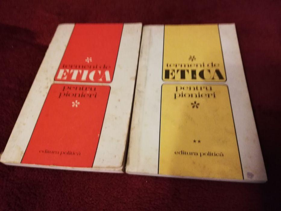 Carte rara Termeni de etica pt pionieri, 1974, comunism,