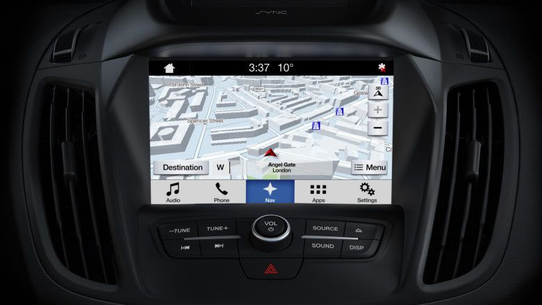 FORD 2018 card navigatie Sync 2 3 Mondeo Focus C-Max B-Max Kuga Ranger