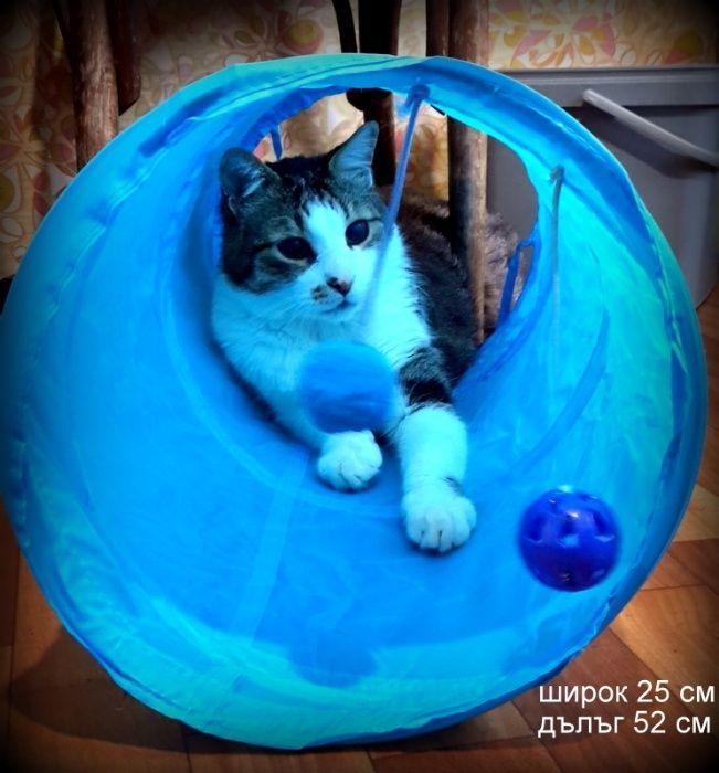 ако обичате вашия домашен любимец купете му тази играчка тунел