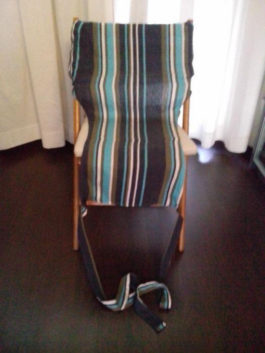 Текстилно столче за бебе (сбруя за бебе)