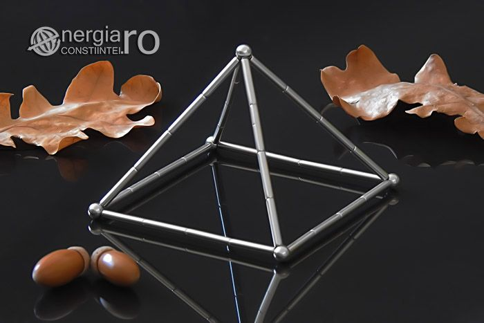 Piramida Magnetica Energetica Orgonica Magneti Neodim - cod ORG031