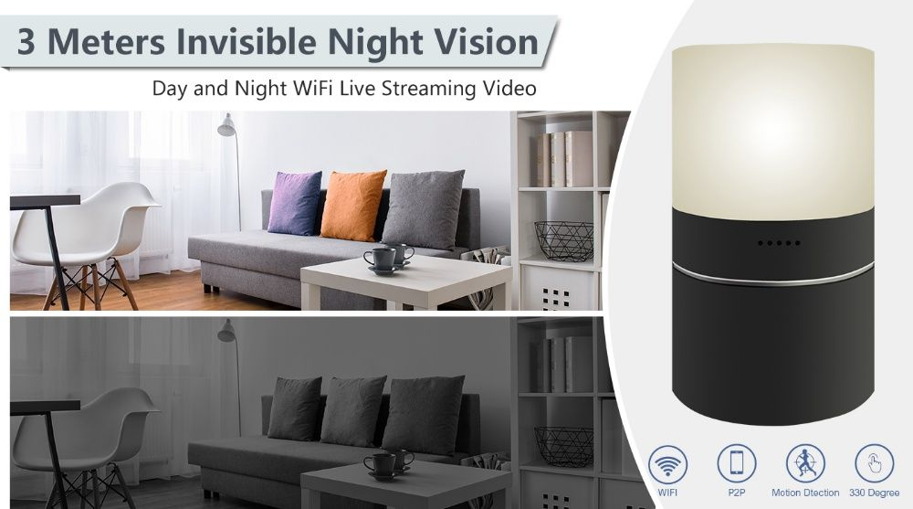 Security Camera WiFi (Spy camera) NOU NightVision