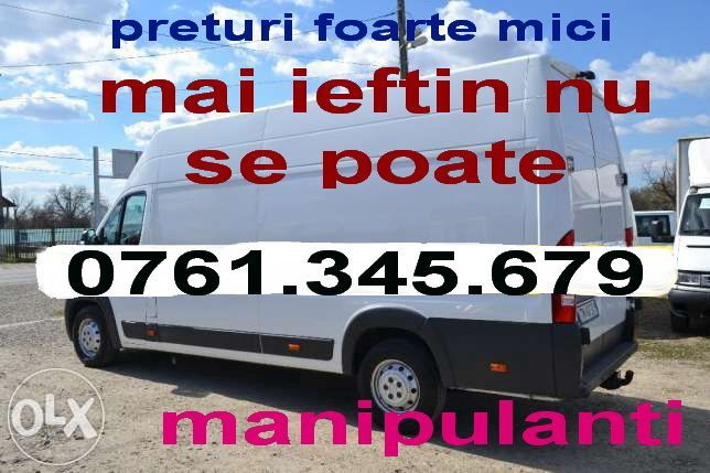 Transport marfa.mutari.mobila.moluz.preturi extrem de mici.manipulare