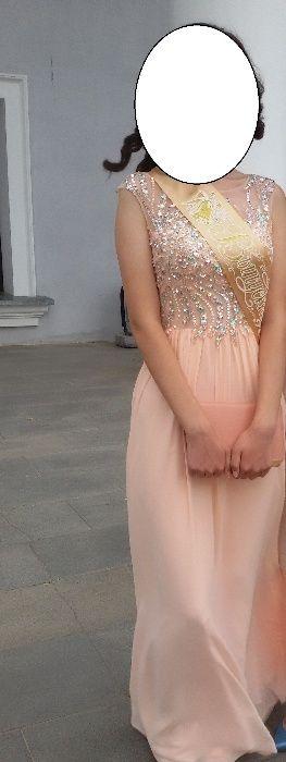 00Продам нежное платье на выпускной, кыз узату