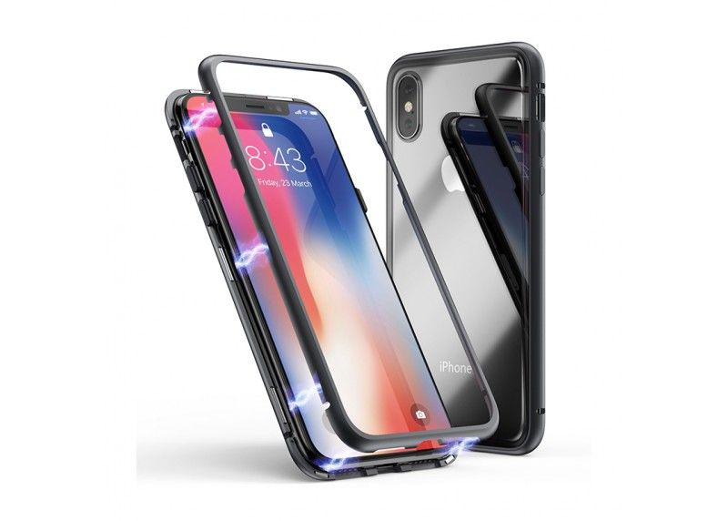 Husa magnetica iPhone 7, 8, X