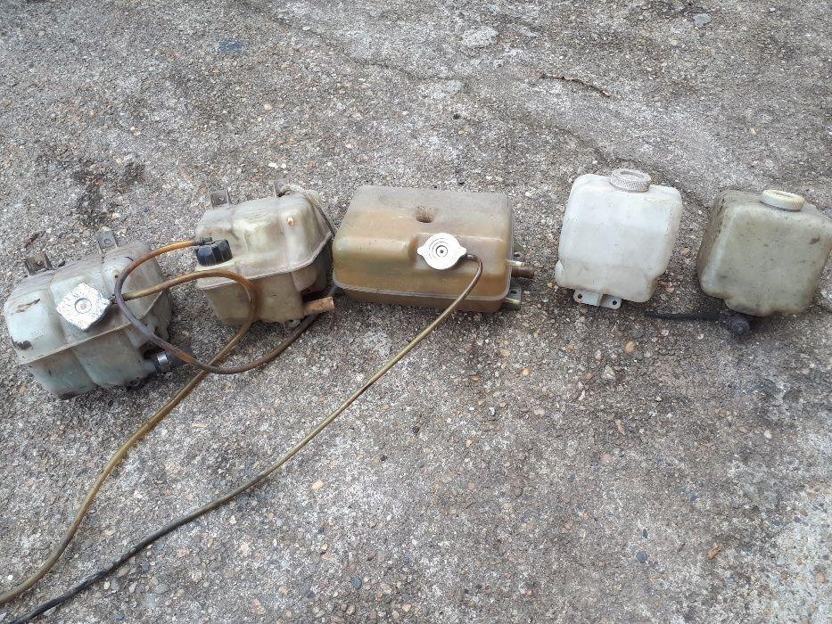 Казанчета от Ивеко за вода и чистачки
