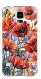 Carcasa pentru Samsung S5 model cu flori ultimul pret