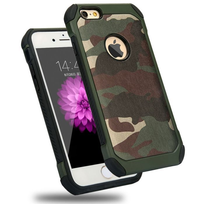 Кейс / Бъмпер Камуфлажен за Iphone 5 / 5S / SE / 6 / 6S / 7 / iPhone 8