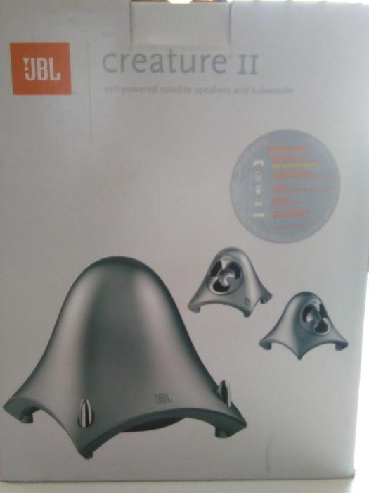 Promo* Alto falante JBL Creature II Core Silver