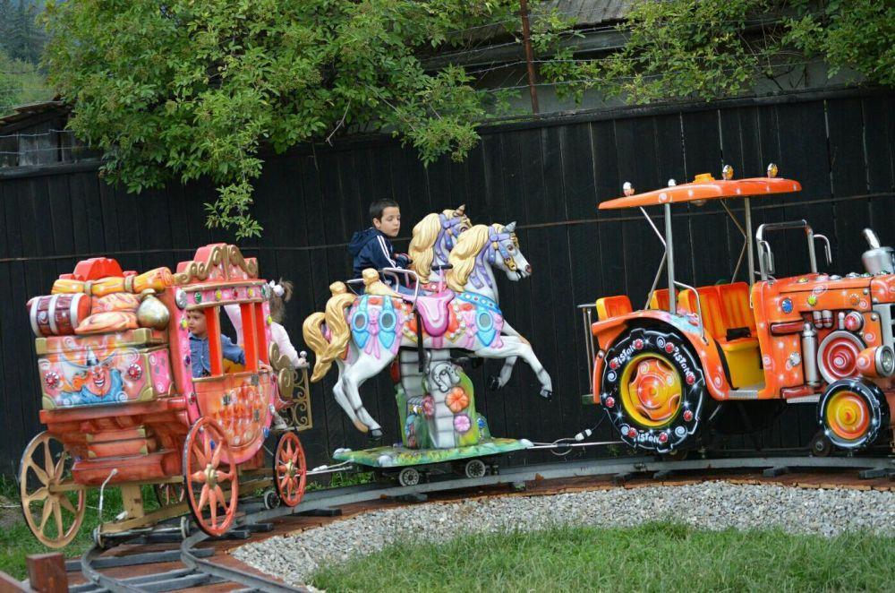 Trenulet electric copii
