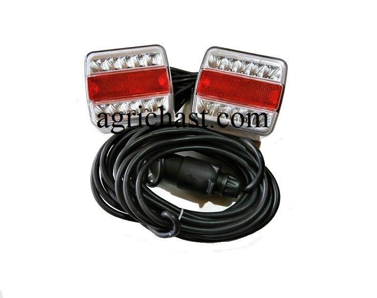 LED стопове - пет функционална ел.инсталация за ремаркета и колесари.