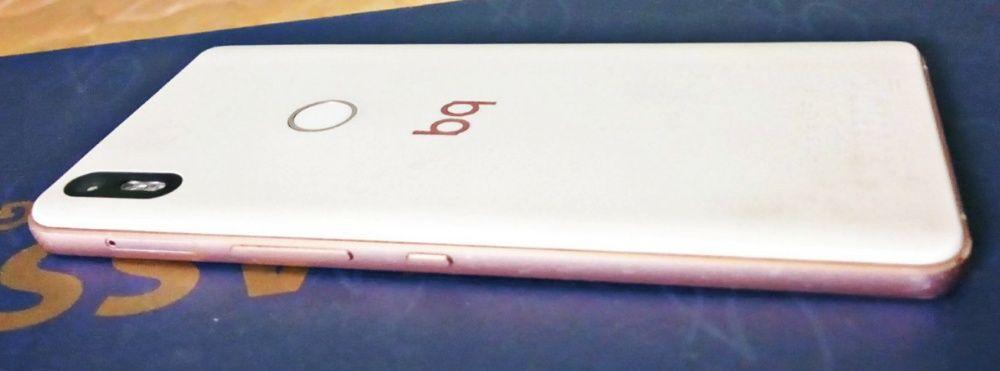 Bq Aquaris X5 plus white/gold