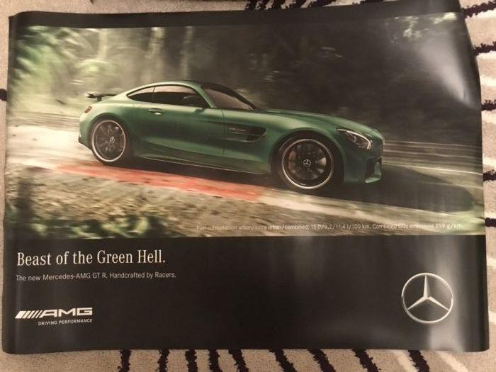 Postere autocolante Mercedes DTM AMG GTR