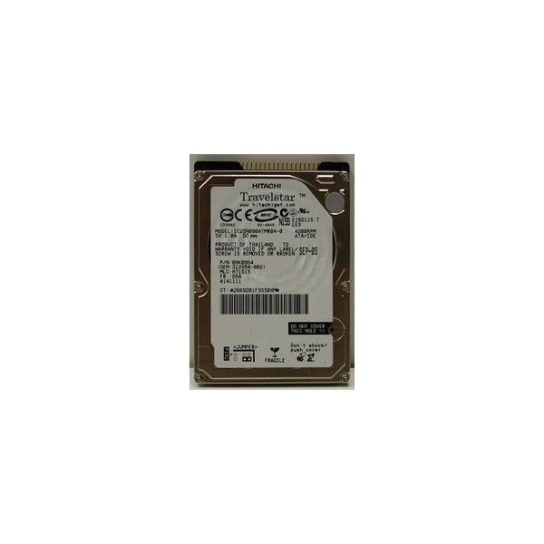 hard disk laptop ide 80gb hitachi 5400 rpm
