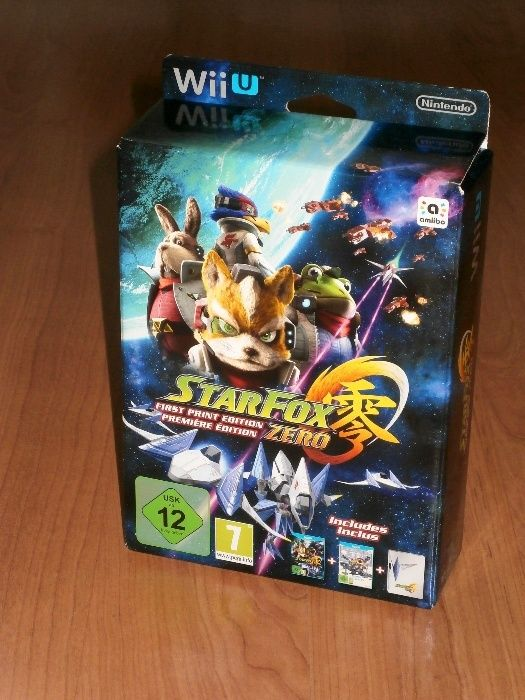 Nintendo Wii U - Star Fox Zero First Print Edition , de colectie