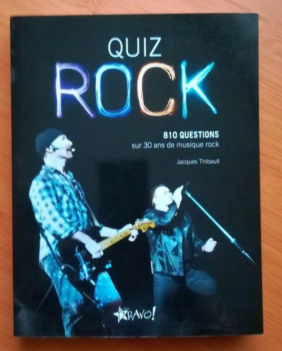 """Carte """"Quiz rock: 810 questions sur 30 ans de musique rock"""" 2014"""