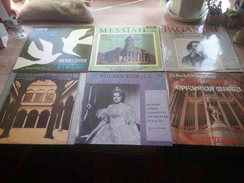 Коллекция классической музыки на виниле