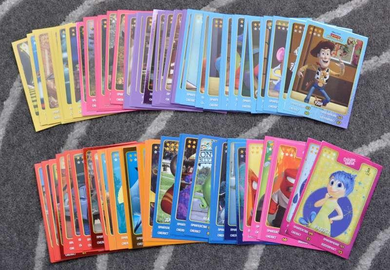 Стикери от Kaufland Disney Pixar